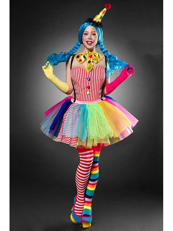 Kunterbuntes Clown Girl