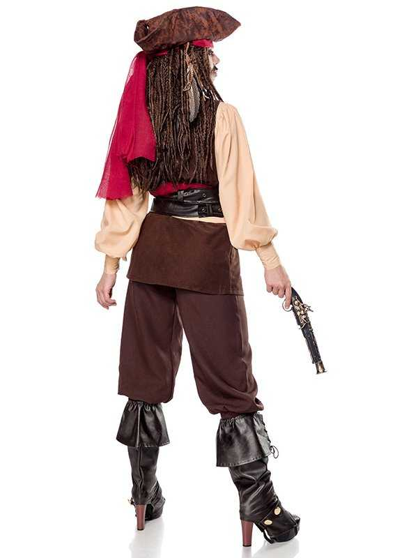 Faschings Damenkostüm Jacky Sparrow