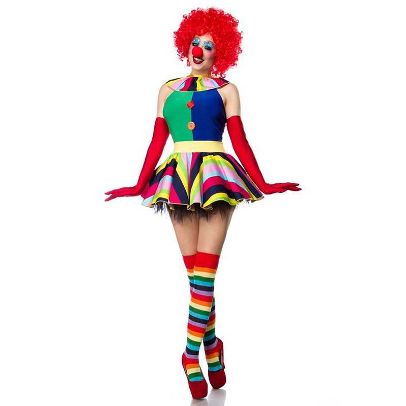 Komplettes Clown Kostüm